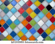 colore-mosaique-banques-de-photographiesk0103985